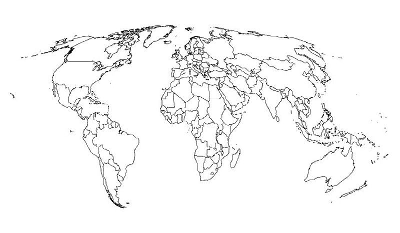 Can You Guess the Country By Its Outline? - WorldAtlas.com