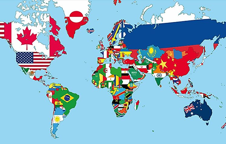 How Many Of These Flags Of The World Can You Identify ... Identifiying Costa Rica World Map on