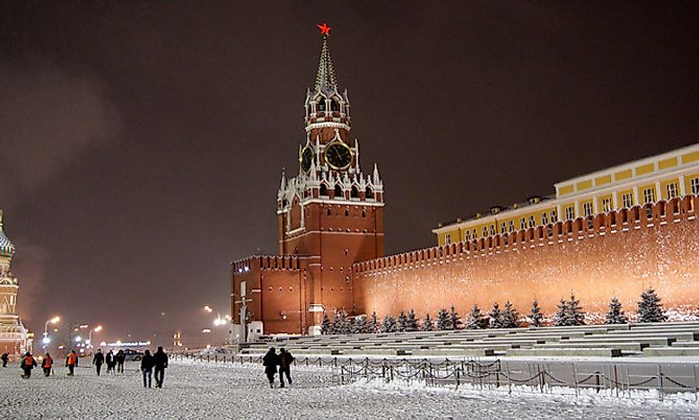 #8 Spasskaya Tower, Moscow, Russia -