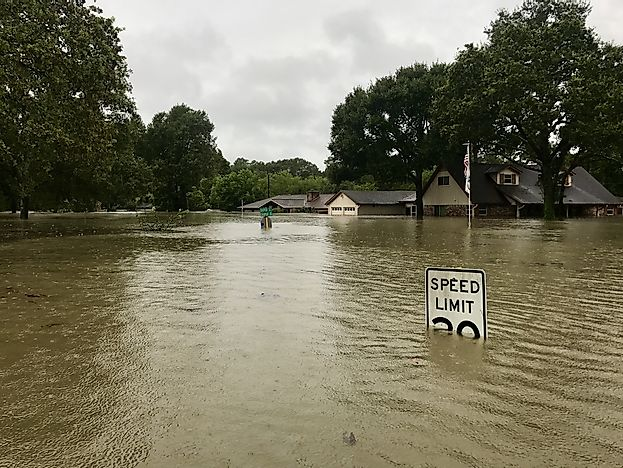 Texas Reeling From Harvey's Damage