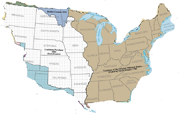 Map Of Louisiana Territory.What Was The Louisiana Purchase Worldatlas Com