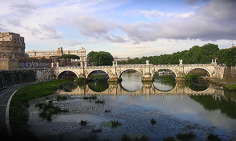 #3 The Tiber River Of Rome -