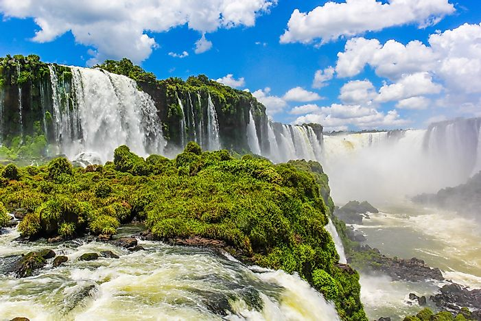 #1 Iguazu Falls - an Unbelievably Beautiful Watefall