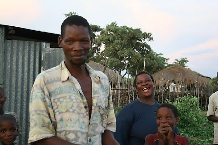 The Tswana People Of Southern Africa