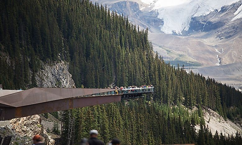 #4 Glacier Skywalk, Jasper National Park, Alberta, Canada -