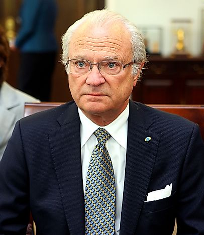 #9 Carl XVI Gustaf of Sweden - 42 Years, 128 Days