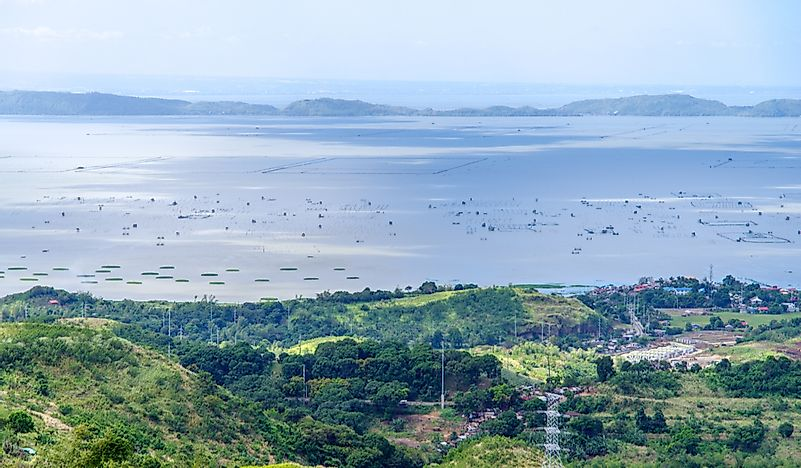 The Largest Lakes In The Philippines