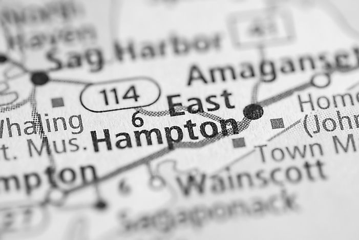 Where are the Hamptons?
