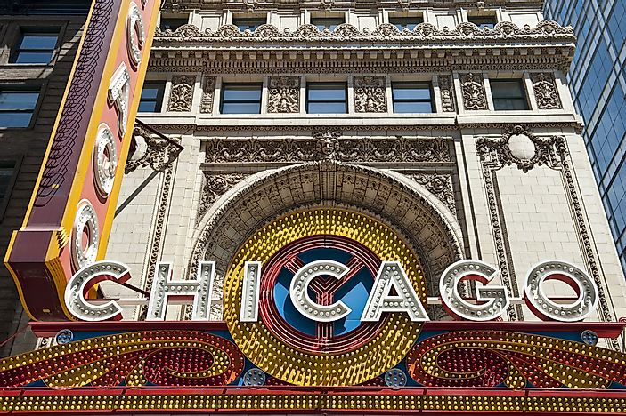 #5 Chicago Theatre - Chicago, Illinois