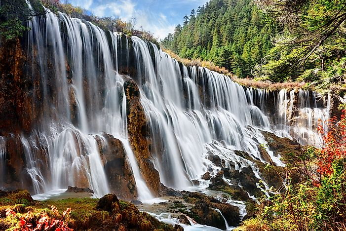 #3 Jiuzhaigou National Park, China