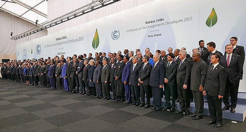Paris Agreement On Climate Change, 2015 (Accord de Paris)