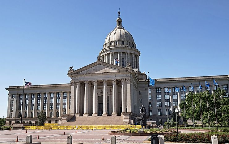 #2 Oklahoma State Capitol