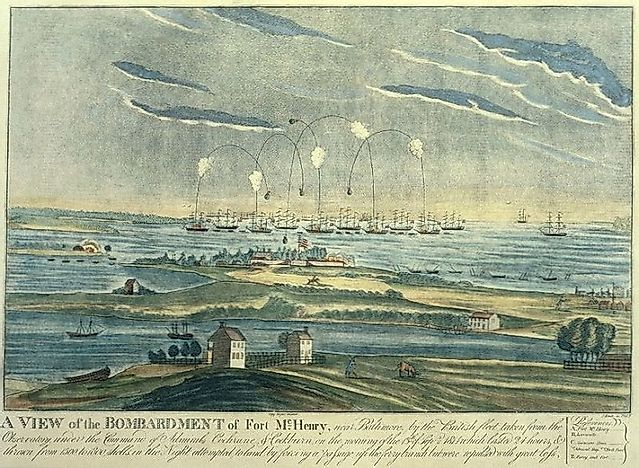 Battle Of Baltimore - War Of 1812
