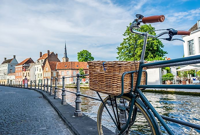 Bruges is a major city in the Flanders Region in Belgium.