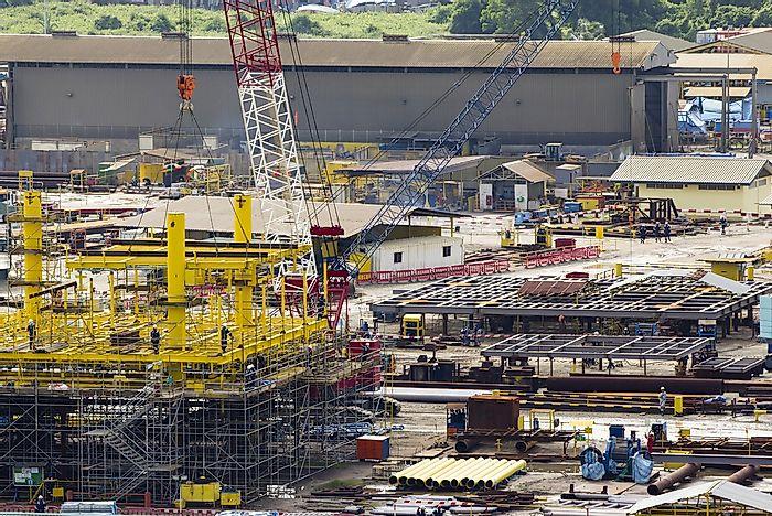 The Biggest Industries in Brunei - WorldAtlas com