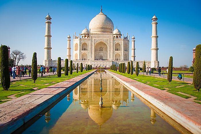 #4 Taj Mahal