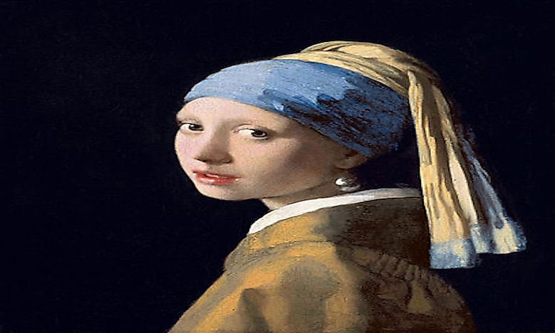 #5 The Girl With A Pearl Earring -