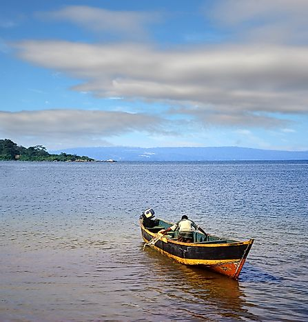 #3 Lake Victoria - 69,485 Square Kilometers