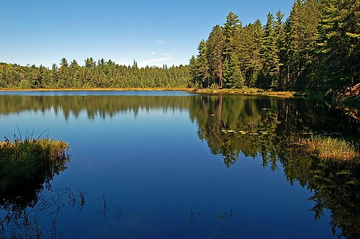 A small lake in Algonquin Park.