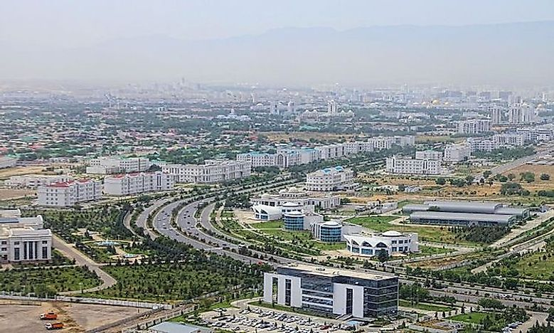 Biggest Cities In Turkmenistan