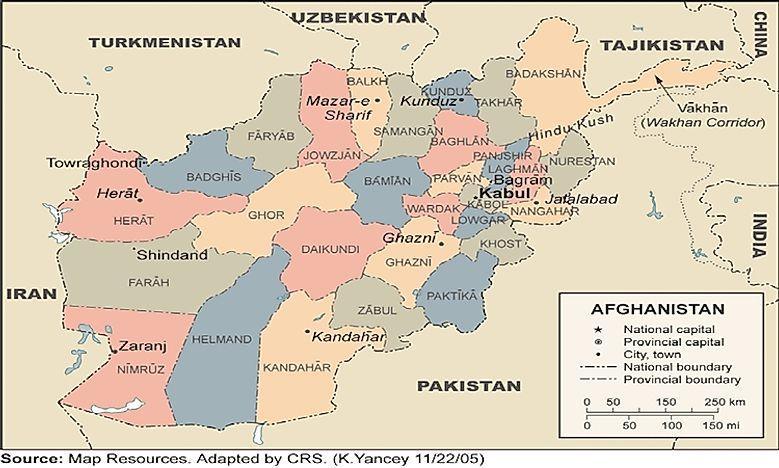 Turkmenistan Map Cities