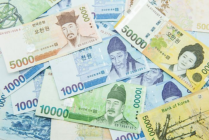 how to say money in korean