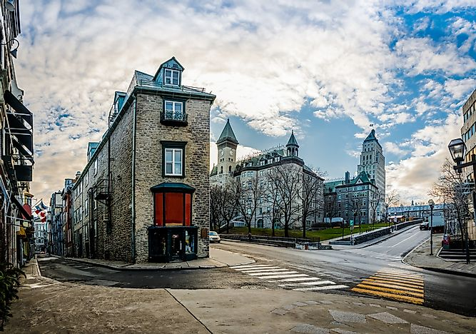 Old Quebec in Quebec City.