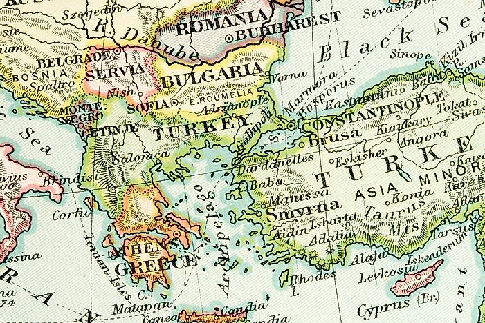 Map Of Italy And Neighbouring Countries.Which Countries Border Turkey Worldatlas Com