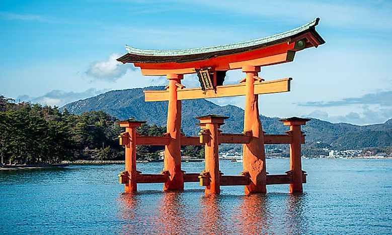 #4 Torii at Itsukushima Shrine -