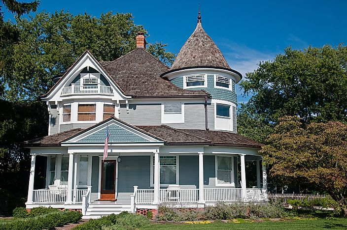 Unique Styles Of Homes In America