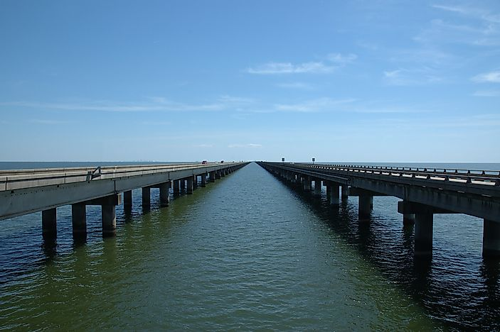 Longest Bridges In North America WorldAtlascom - Longest bridge in the usa