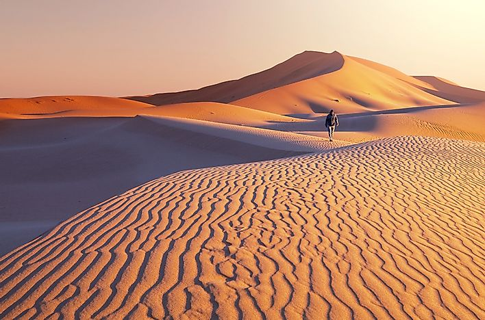 The Gobi Desert is found in both China and Mongolia.