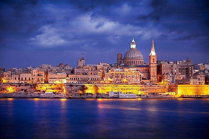 #5 Malta - 316 sq km
