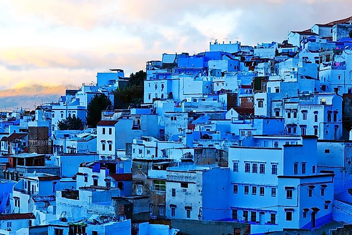 #13 Chefchaouen, Morocco