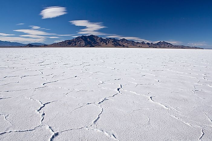 Bonneville Salt Flats - Unique Places Around The World - WorldAtlas.com