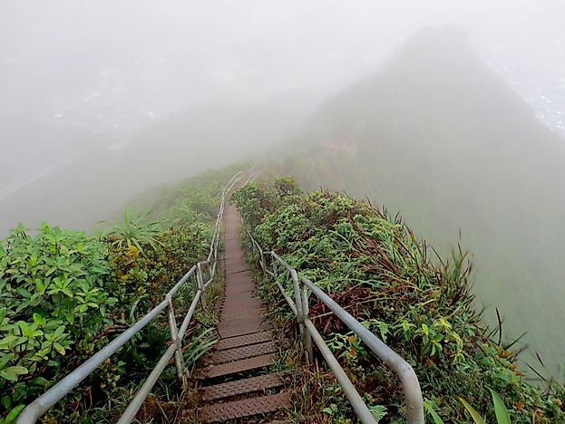 The Haiku Stairs, Hawaii - Unique Places around the World