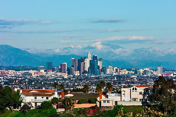 #7 Los Angeles - The Greenest Cities in North America