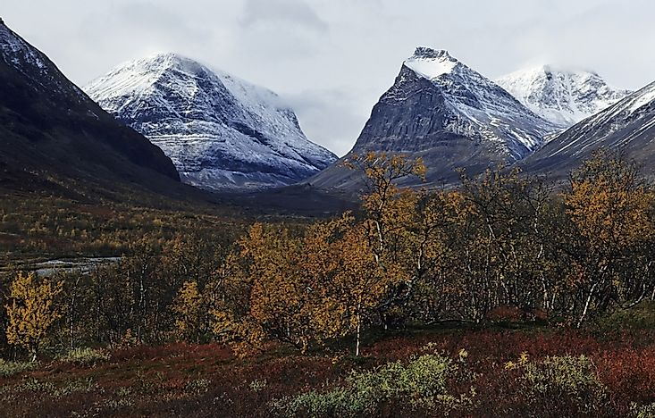 What Is The Scandinavian Mountain Range?