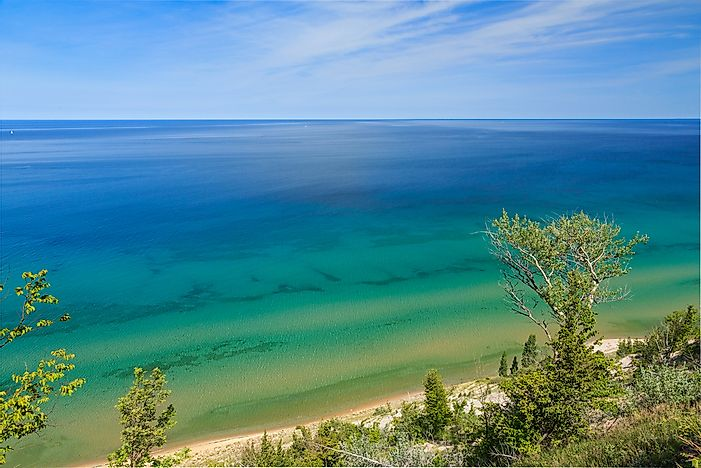 The Great Lakes Ranked by Size