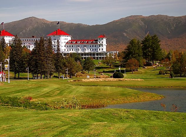 #2 Mount Washington Hotel - Bretton Woods, New Hampshire