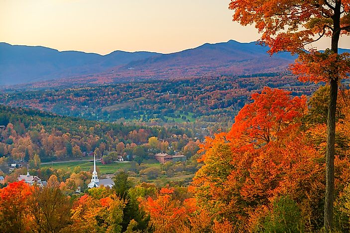 Fall in the Northeastern United States.