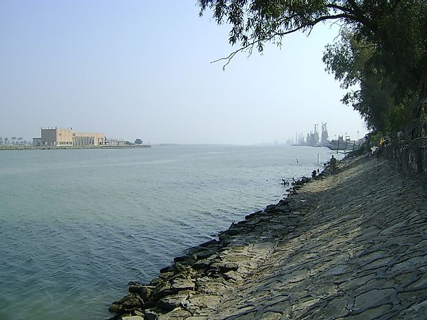 The Shatt Al-Arab River