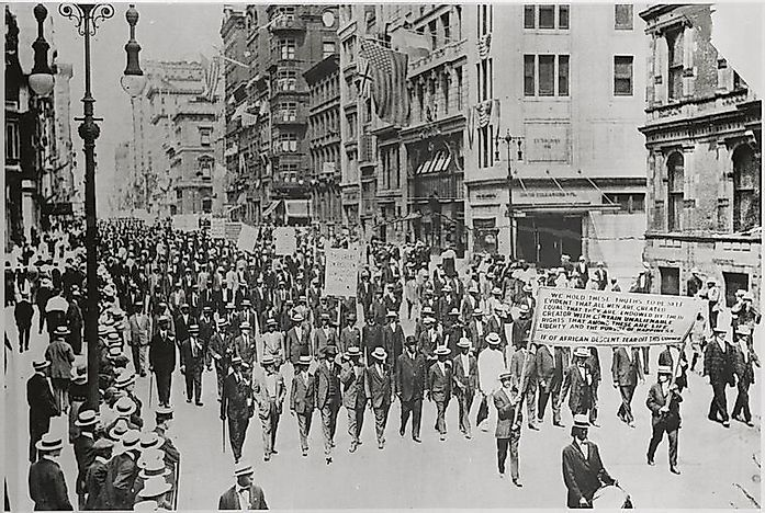 The Silent Parade of 1917