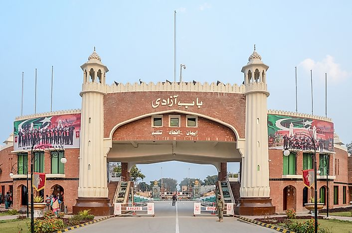Which Countries Border Pakistan? - WorldAtlas com