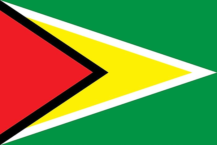 What Do the Colors and Symbols of the Flag of Guyana Mean?
