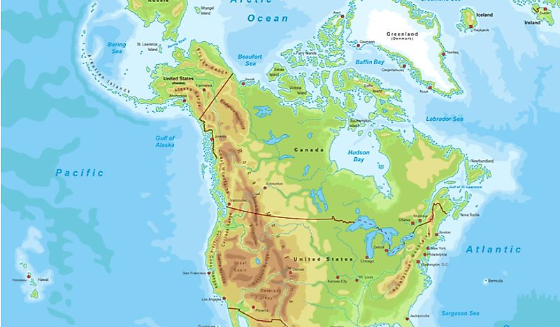 Rocky Mountains Wyoming Map.Where Are The Rocky Mountains Worldatlas Com