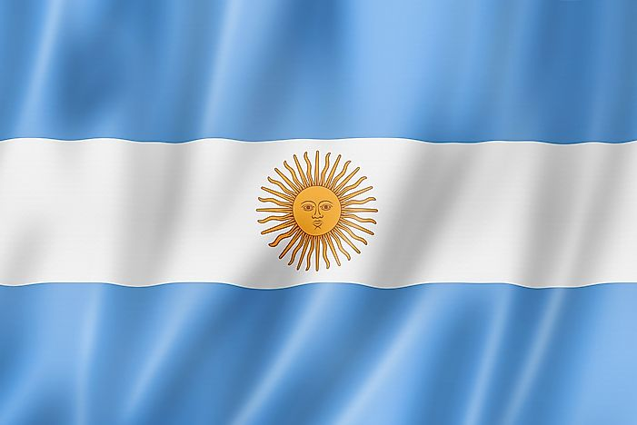 What Do The Colors And Symbols Of The National Flag Of Argentina Mean?