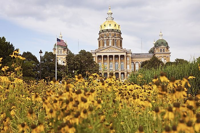 What Is the Capital of Iowa?