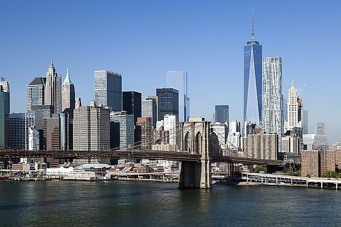 #6 One World Trade Center, United States - 1776 feet