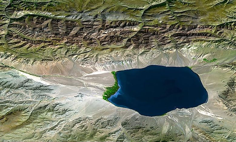 Fluvial Landforms: What Is An Endorheic Basin? - WorldAtlas com